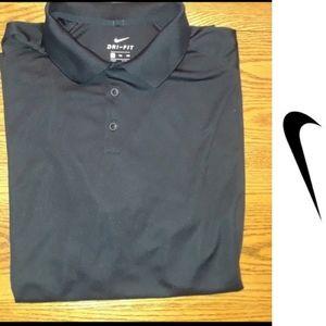 Size XXL Nike black polo shirt